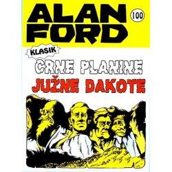 Alan Ford #100 - Crne planine Južne Dakote - Max Bunker - meki uvez