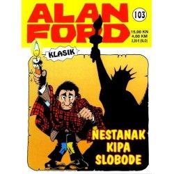 Alan Ford #103 - Nestanak Kipa slobode - Max Bunker - meki uvez