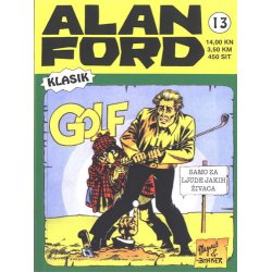 Alan Ford #13 - Golf - Magnus&Bunker - meki uvez