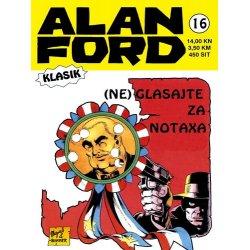 Alan Ford #16 - (Ne) glasajte za Notaxa - Magnus&Bunker - tvrdi uvez
