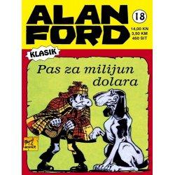 Alan Ford #18 - Pas za milijun dolara - Magnus&Bunker - tvrdi uvez