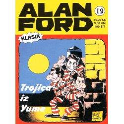 Alan Ford #19 - Trojica iz Yume - Magnus&Bunker - tvrdi uvez