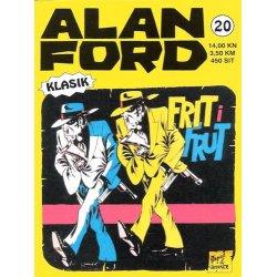 Alan Ford #20 - Frit i Frut - Magnus&Bunker - tvrdi uvez