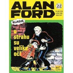 Alan Ford #22 - U strahu su velike oči - Magnus&Bunker - tvrdi uvez