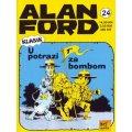 Alan Ford #24 - U potrazi za bombom - Magnus&Bunker - tvrdi uvez