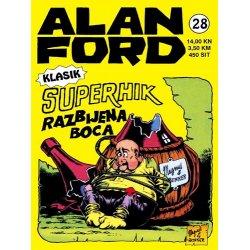 Alan Ford #28 - Superhik - razbijena boca - Magnus&Bunker - tvrdi uvez