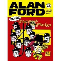 Alan Ford #35 - Dvanaest umjetnika - Magnus&Bunker - tvrdi uvez