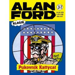 Alan Ford #37 - Pukovnik Kattycat - Magnus&Bunker - tvrdi uvez