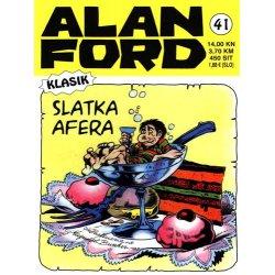 Alan Ford #41 - Slatka afera - Magnus&Bunker - tvrdi uvez