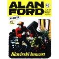 Alan Ford #45 - Klavirski koncert - Magnus&Bunker - tvrdi uvez