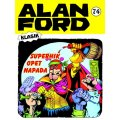 Alan Ford #74 - Superhik opet napada - Magnus&Bunker - tvrdi uvez