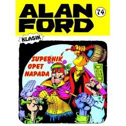 Alan Ford #74 - Superhik opet napada - Magnus&Bunker - meki uvez