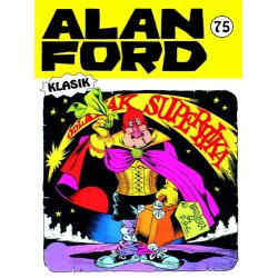Alan Ford #75 - Odlazak Superhika - Magnus&Bunker - meki uvez