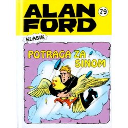 Alan Ford #79 - Potraga za sinom - Max Bunker - meki uvez