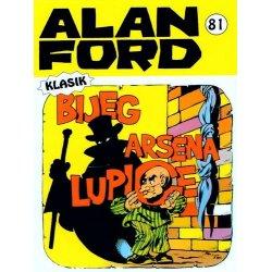 Alan Ford #81 - Bijeg Arsena Lupige - Max Bunker - tvrdi uvez