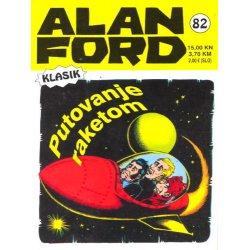 Alan Ford #82 - Putovanje raketom - Max Bunker - tvrdi uvez