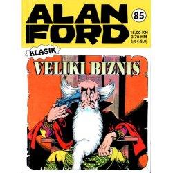 Alan Ford #85 - Veliki biznis - Max Bunker - meki uvez