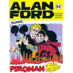 Alan Ford #94 - Piroman - Max Bunker - meki uvez
