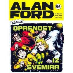 Alan Ford #96 - Opasnost iz svemira - Max Bunker - meki uvez