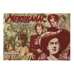 Meksikanac - Andrija Maurović- tvrdi uvez